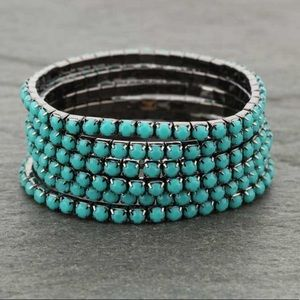 6 Strand Stackable Stretch Bracelet